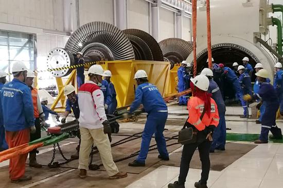 淮北发电:海外项目完成重大节点工作