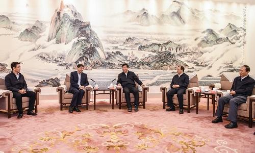 陈飞虎拜会江苏省主要领导